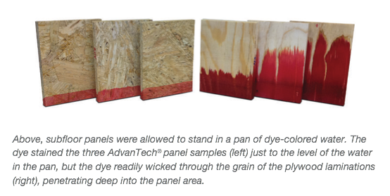 Advantech Subflooring Vs Osb Plywood