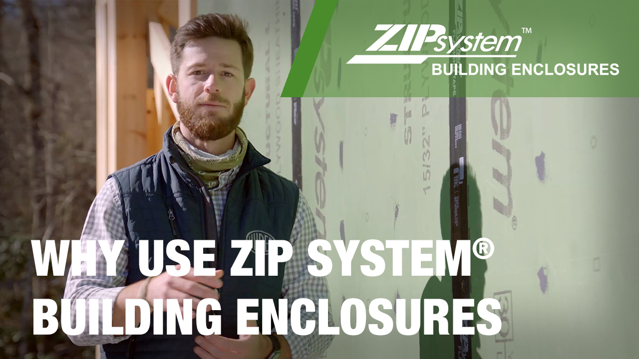 Why use ZIP System wall sheathing