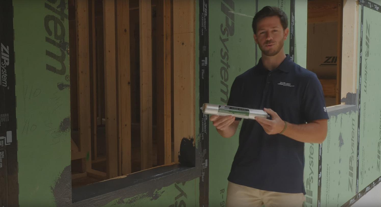 Zip wall video install air sealing tips