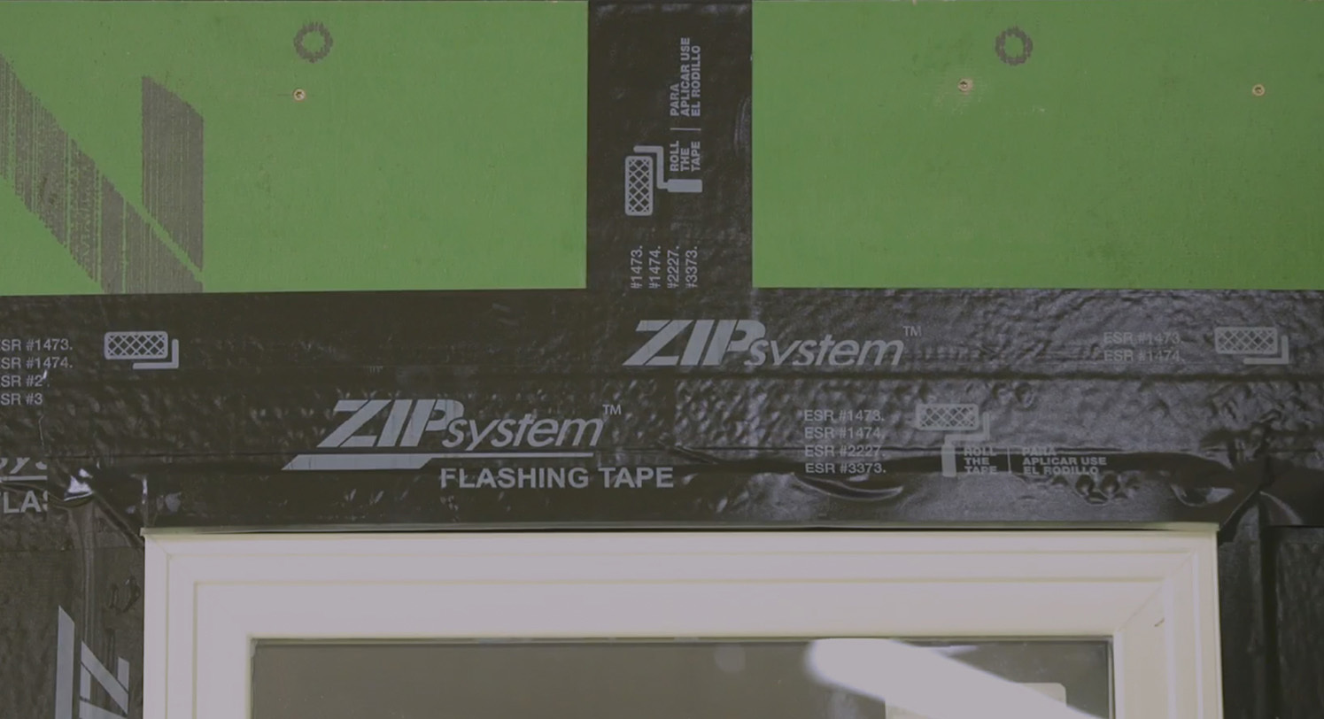 Zip wall video install tjoint flashing