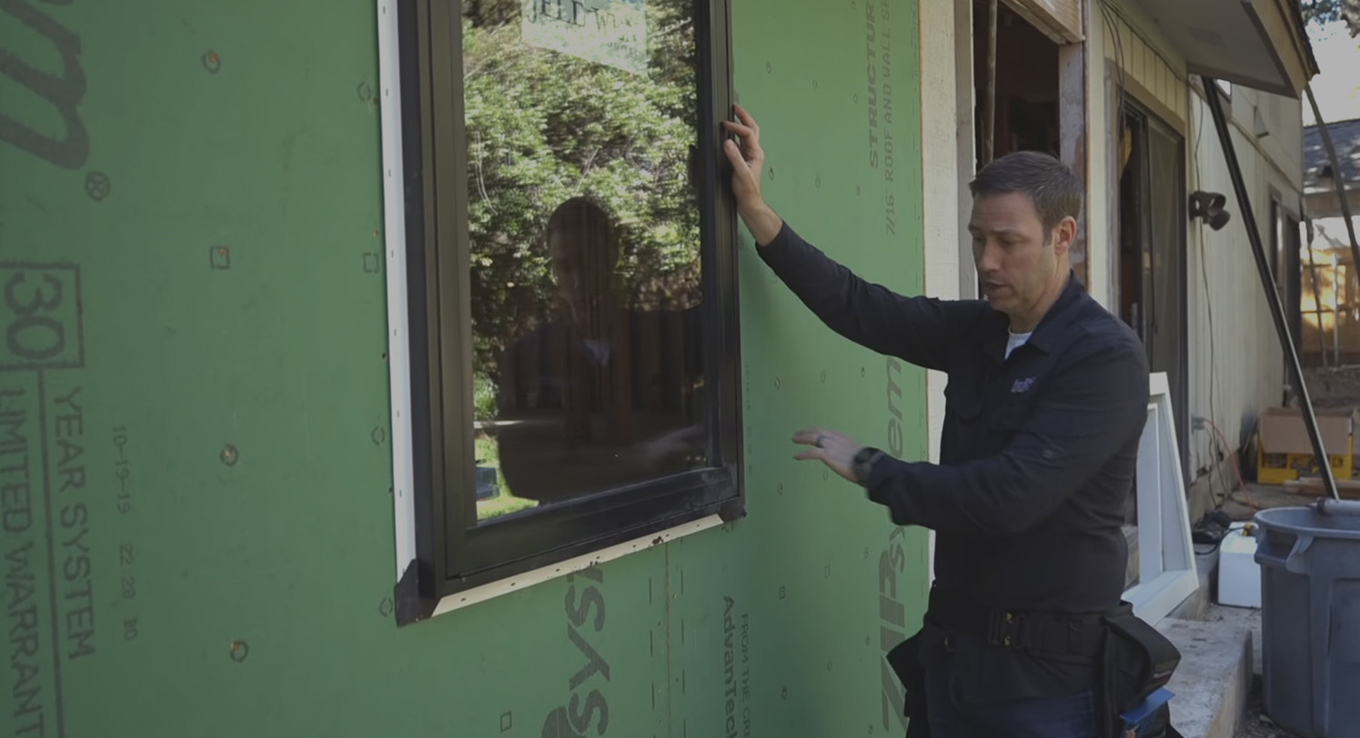 Zip wall video install window install and flashing
